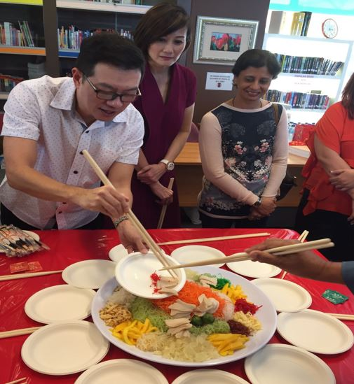 Yusheng prepared by the Staff Welfare Committee - 01